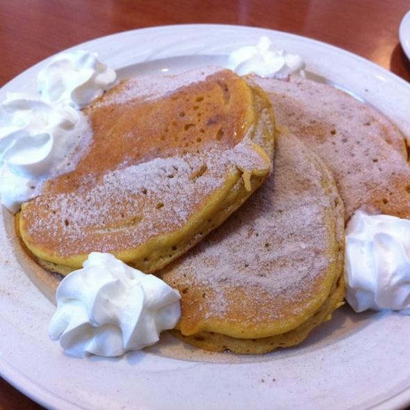 Pumpkin Pancakes @ Pancake Cafe