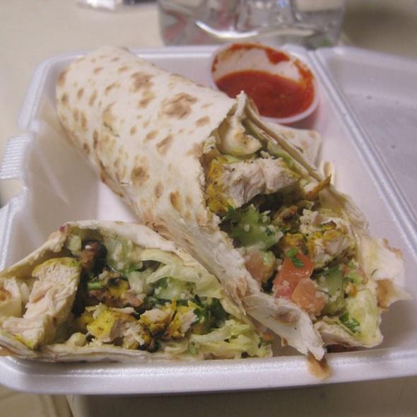 Chicken Shawarma Wrap @ Mykonos Mediterranean Grill
