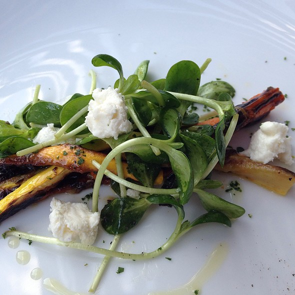 Broiled Yellow Squash And Carrot Batons, House Ricotta - Restaurant Gwendolyn, San Antonio, TX