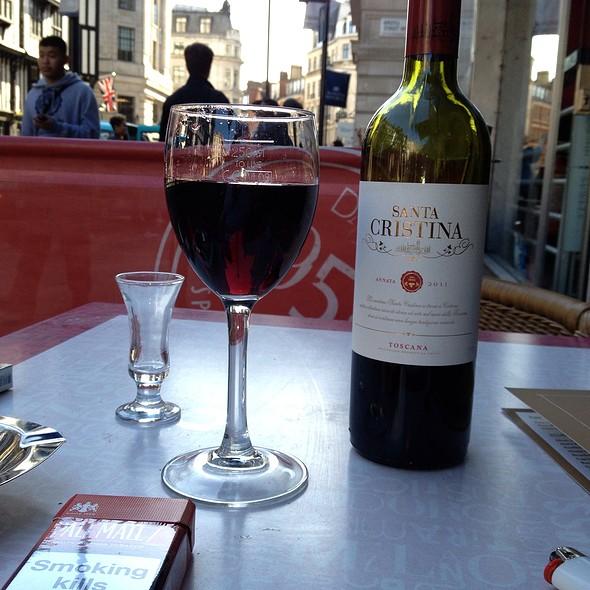 Drinking Some Wine