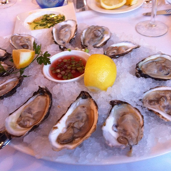 Oysters @ Milos Restaurant