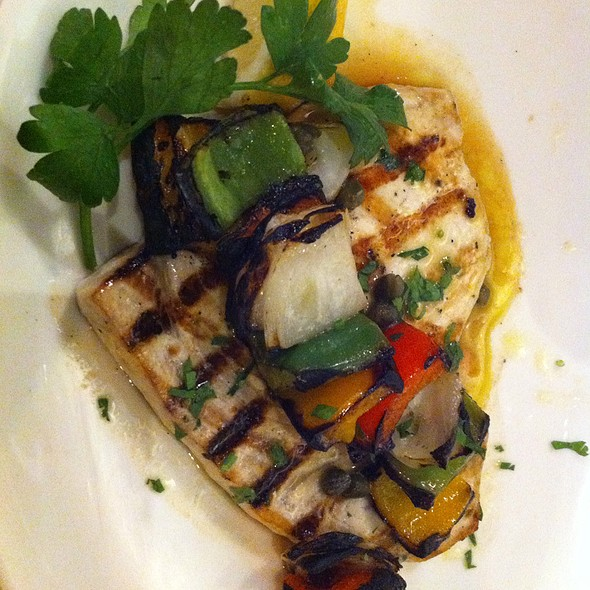 Grilled Swordfish @ Milos Restaurant