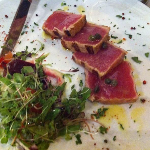 Big Eye Tuna Tataki @ Milos Restaurant