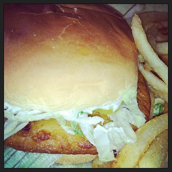 Fried Pork Chop Sandwich @ Blondys