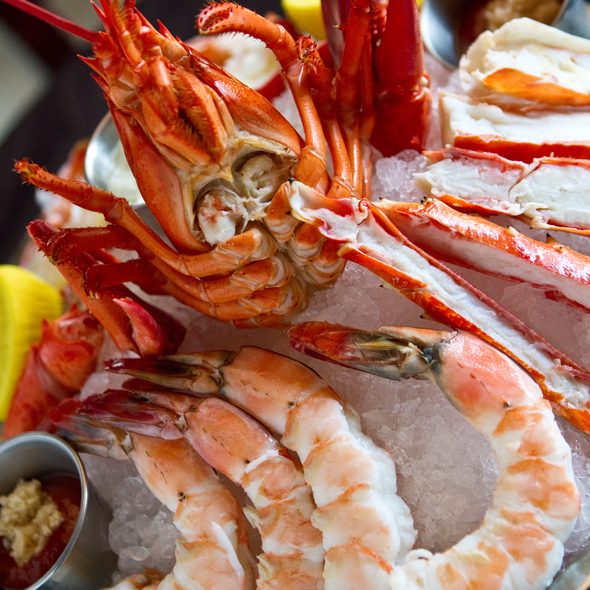 Seafood Platter @ Benny's Chop House