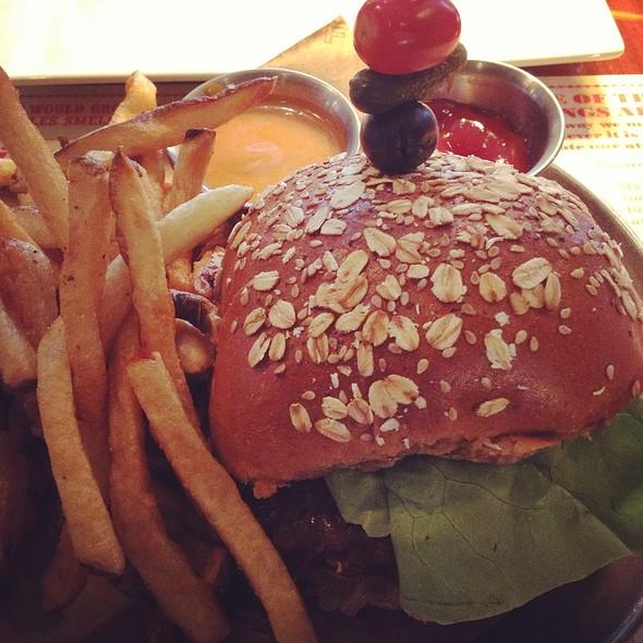 Veggie Burger - The Office, Delray Beach, FL