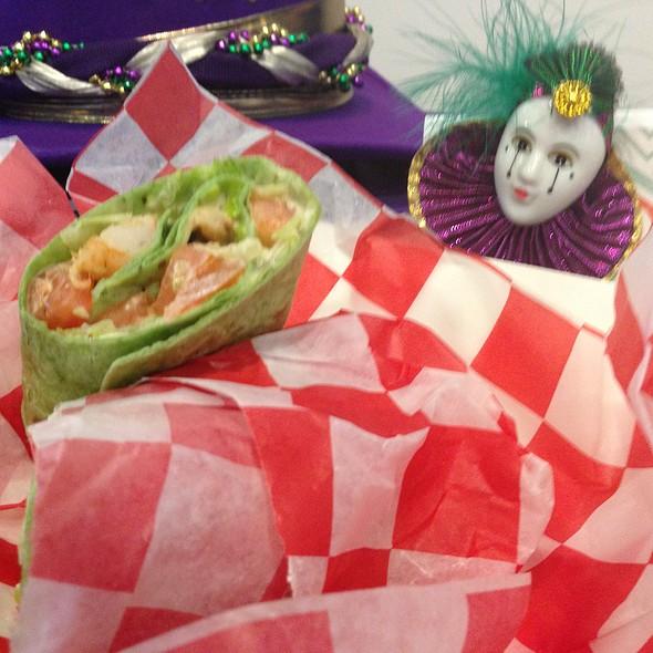 Shrimp Remoulade Wrap @ The Quarter Bar and Grill