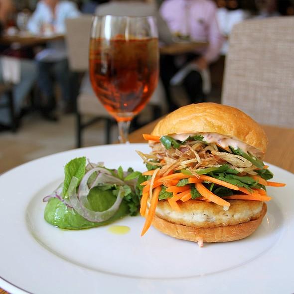 Tuna Burger @ Ella Dining Room & Bar