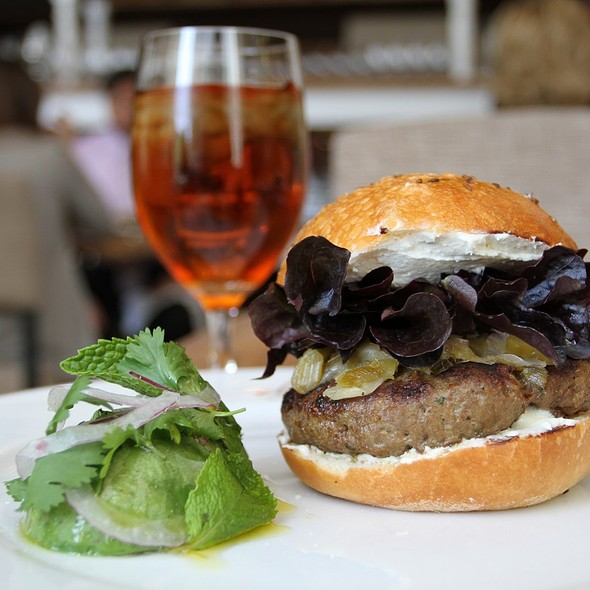 Lamb Burger @ Ella Dining Room & Bar