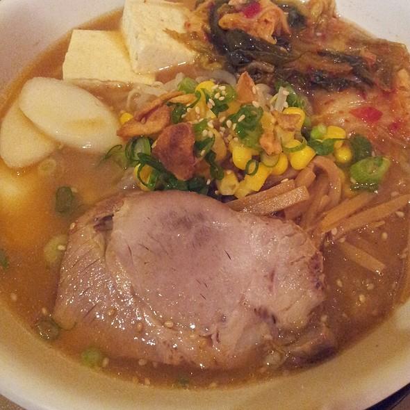Kimchi Mochi Ramen @ Aloha Ramen