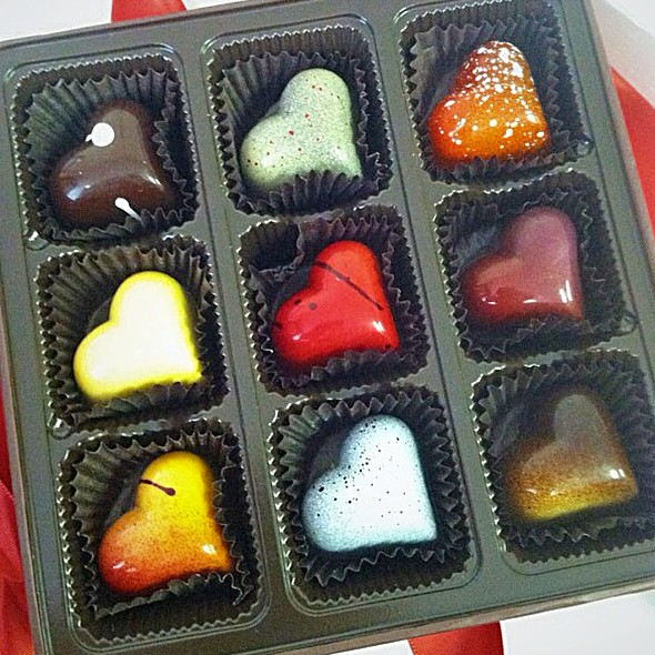 Assorted Chocolates @ Christopher Elbow Chocolatier