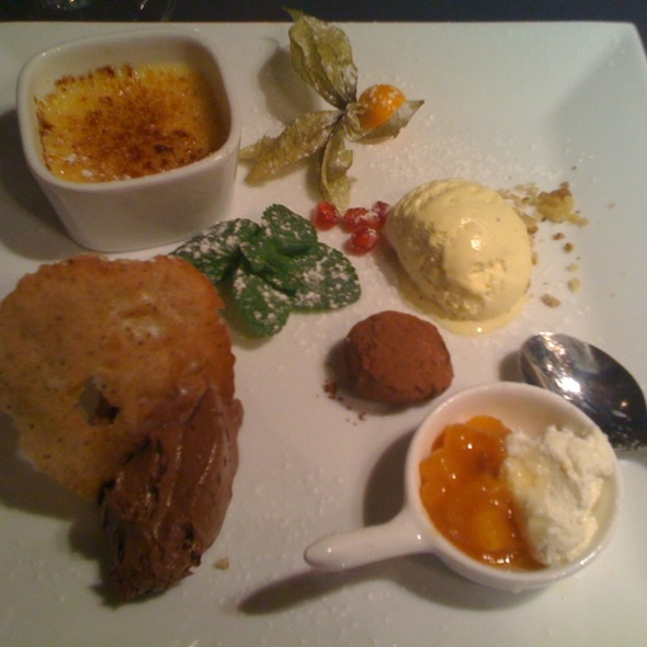 Selection of Desserts @ Restaurace Na Kopci