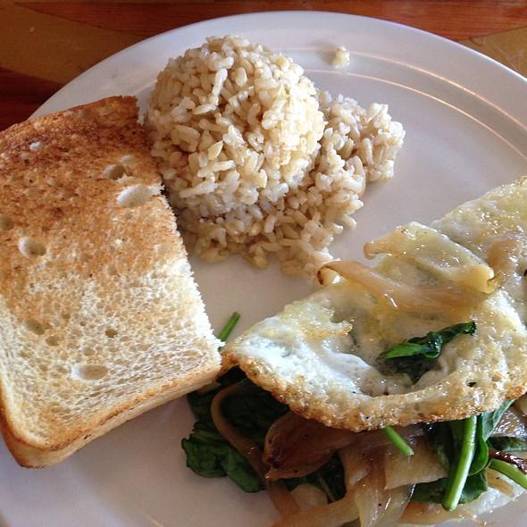 Veggie Egg White Omelet - Charley's Restaurant & Saloon, Paia, HI
