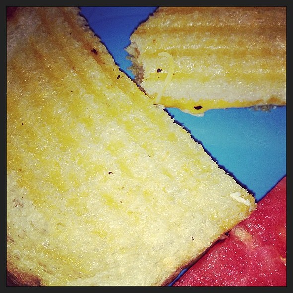 Grilled Cheese Panini @ Vanilla Bean