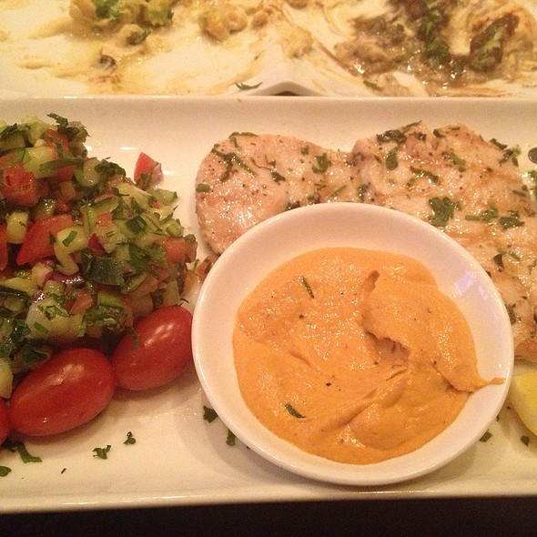 Grilled Chicken @ Hummus Kitchen Upper Eastside