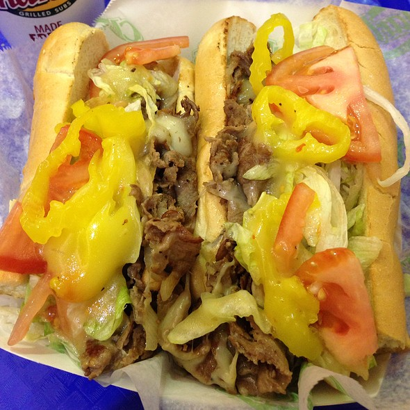Large Steak & Cheese Extra Meat @ Charley's Grilled Subs