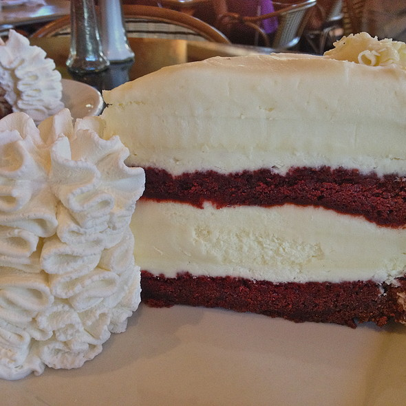 Cake Red Velvet White Chocolate : Cheesecake Factory Menu - San Diego, CA - Foodspotting