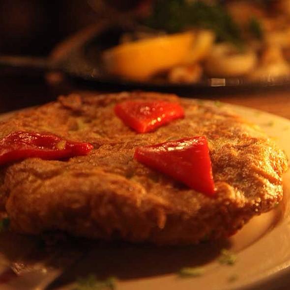 Spanish Omelette - Cafe Español, New York, NY