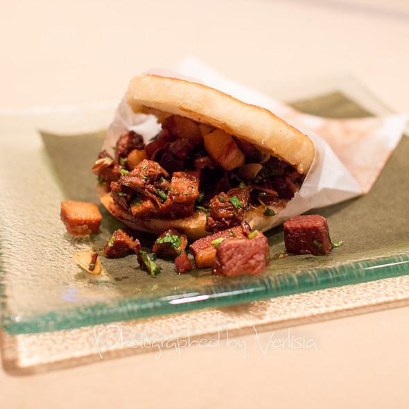 Rou Jia Mo Street Sandwich - China Poblano - The Cosmopolitan of Las Vegas, Las Vegas, NV