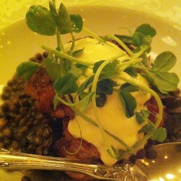 Sweetbreads With Lentils And Escargot @ The Publican