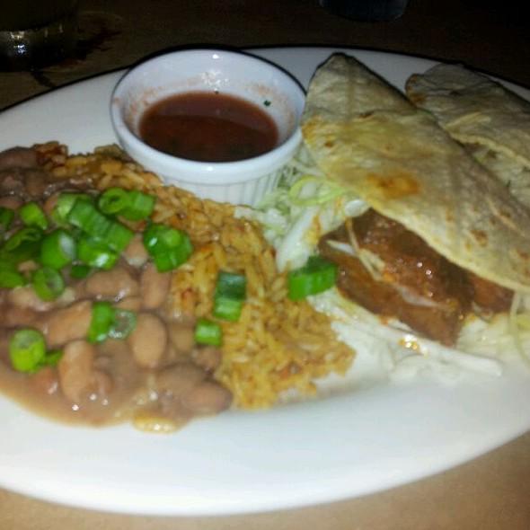 Pork & Beef Taco Plate