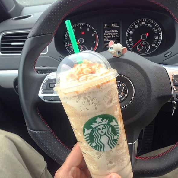 Caramel Rib Crunch Frap @ Starbucks