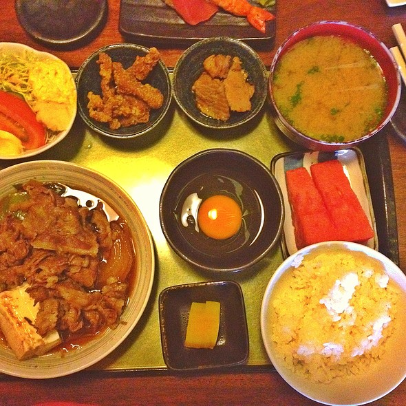 Sukiyaki Gozen @ Seryna, Little Tokyo, Makati