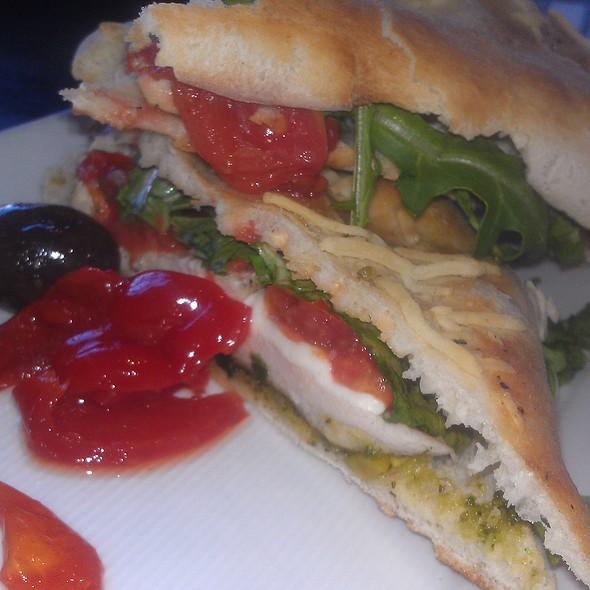 Grilled Chicken & Pesto Sandwich - Pizza Republica - Greenwood Village, Greenwood Village, CO