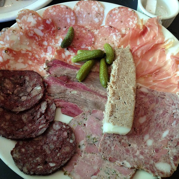 Chef's Selection, Charcuterie Plate