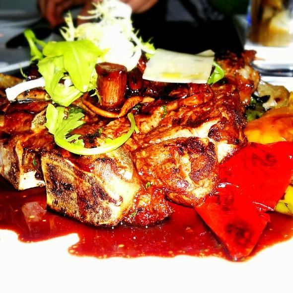 Veal T-bone - Lupo Restaurant & Vinoteca, Vancouver, BC