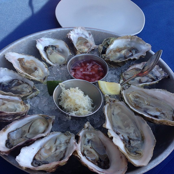 Dozen Oysters - Cork and Fin, Vancouver, BC