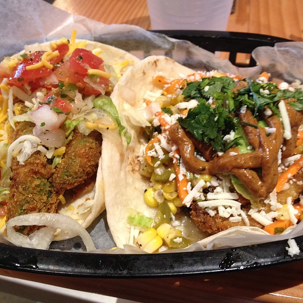 Fried Avocado & Independent Tacos @ Torchy's Tacos - SMU