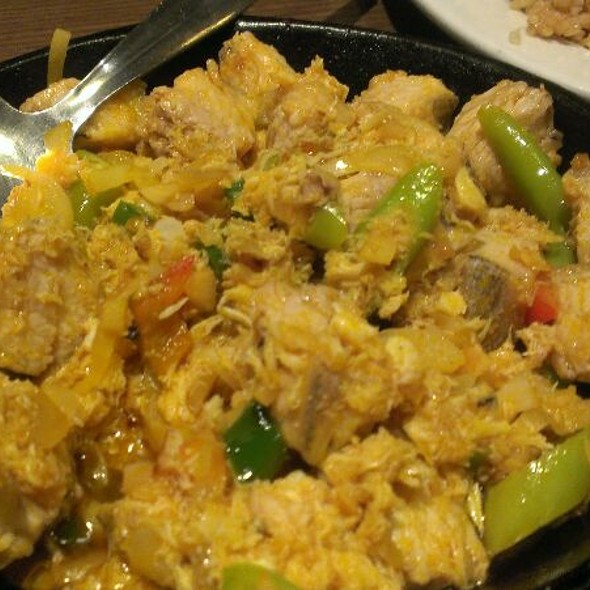 Tuna And Crabmeat Sisig