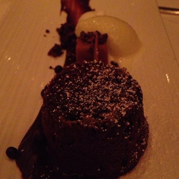 Chocolate Cake - Bacchanalia, Atlanta, GA