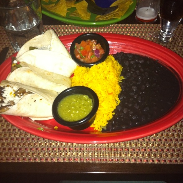 Vegetarian Tacos - Cantina Southwest Grill & Tequila Bar, Stamford, CT
