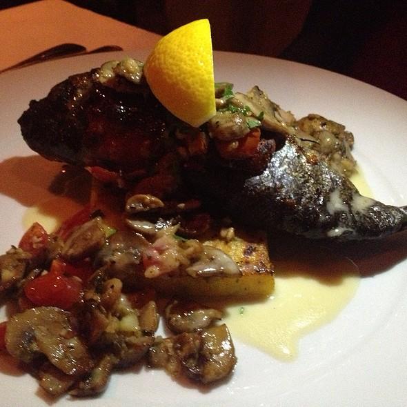 Grilled Prosciutto Wrapped Trout - Il Piatto, Santa Fe, NM