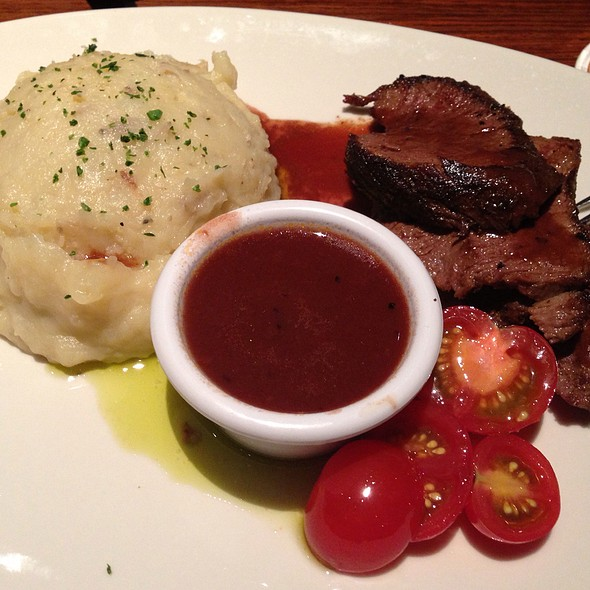 Herb Crusted Filet Of Cod @ Outback Steakhouse