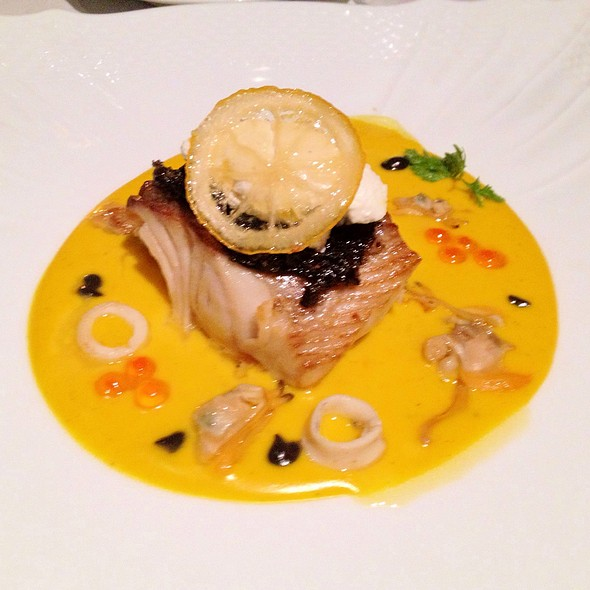 Black Cod With Caviar @ Il Ristorant @ Bulgari