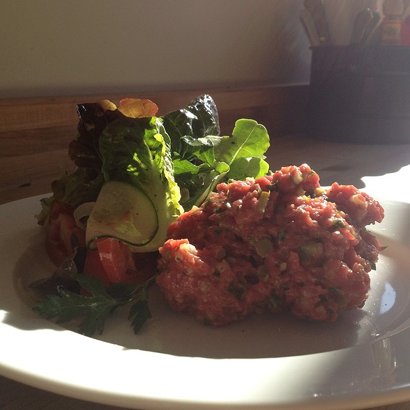 Beef Tartare With Salad