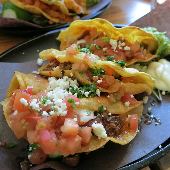 Ancho Braised Shortrib-Brisket Crispy Tacos @ Playa Cabana Cantina