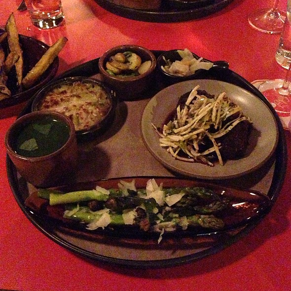 Braised Beef Cheeks With Triple Celery Slaw Thalis - Poppy, Seattle, WA