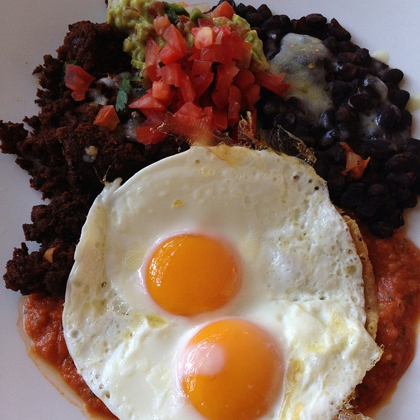 Mansion Huevos Rancheros - Mansion Restaurant at Rosewood Mansion on Turtle Creek, Dallas, TX