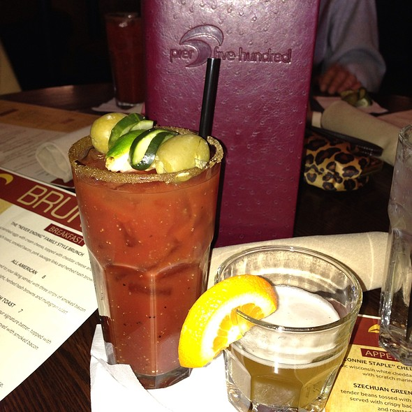 Bloody Mary - Pier 500, Hudson, WI