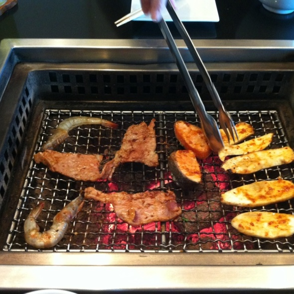 grill food
