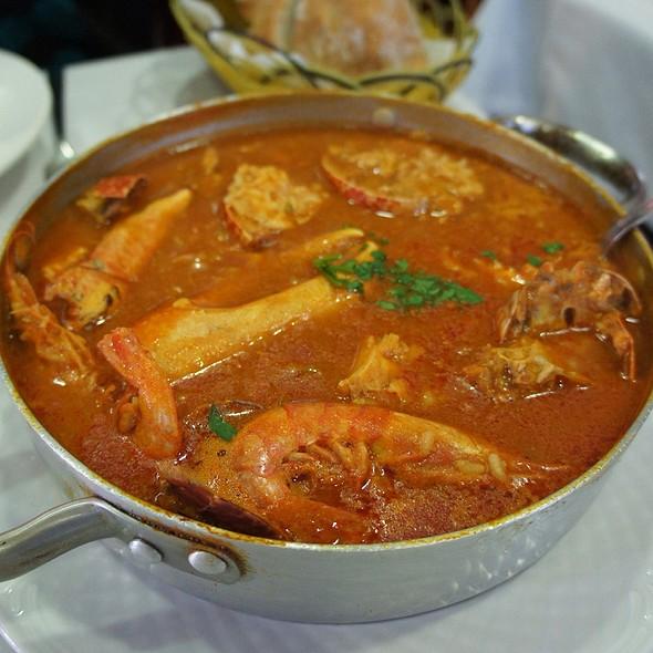 Arroz De Marisco Y Lubrigante   Seafood And Lobster Rice @ Restaurante A Cofradia de Rinlo