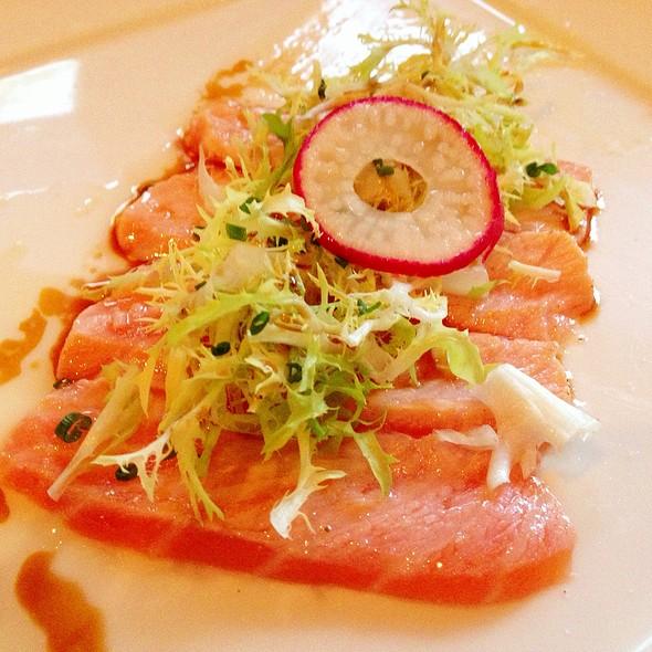 Salmon Sashimi With Truffle Salt - Kiwami, Studio City, CA