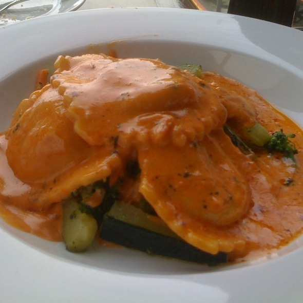 Lobster Raviolli @ Old Fisherman's Grotto