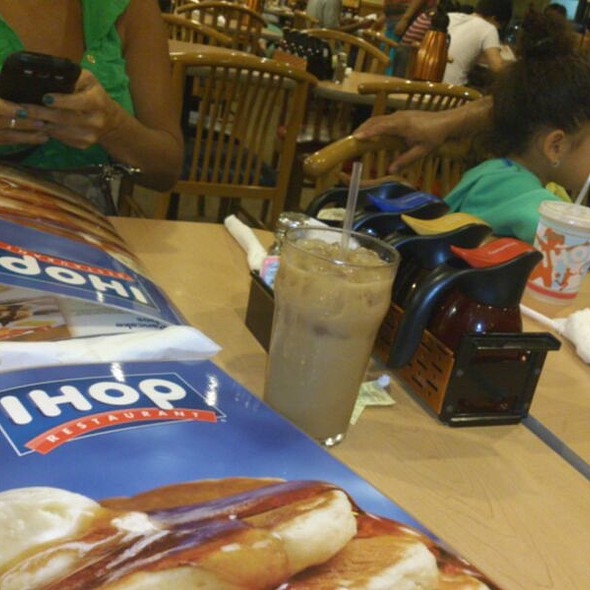 Nutella Crepes @ Ihop Restaurant