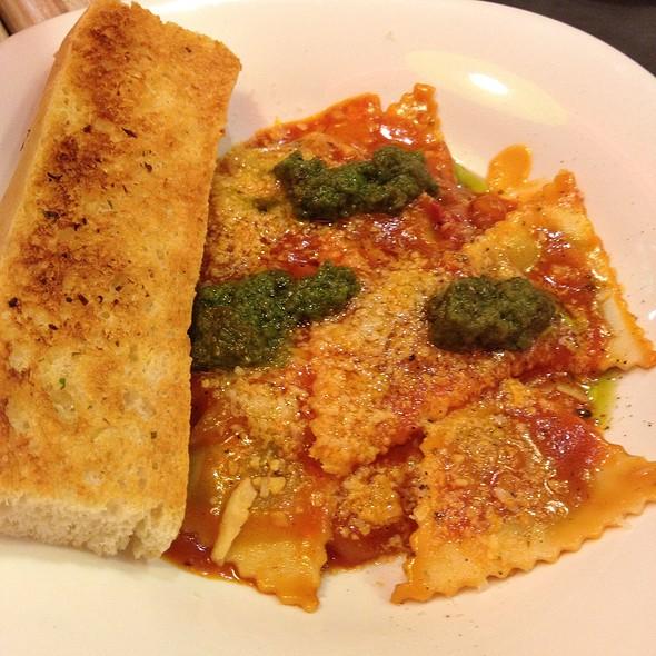 Spinach and Feta Cheese Ravioli in Pasta Sauce  @ Bistro Ravioli - SM Moa