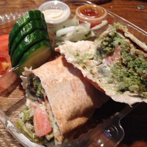 Falafel @ Layla Lebanese Restaurant